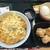 なか卯 - 料理写真:濃厚チーズの親子丼590円、竜田揚げ3個120円、こだわり卵80円(2021.8.16)