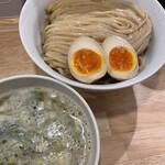 麺屋 K - 鶏魚塩つけ麺+味玉
