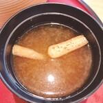 秋田比内地鶏や - 味噌汁