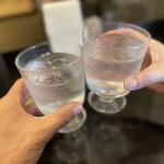 158133797 - お水で乾杯〜♬