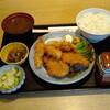八百玉 - 料理写真:豚ヒレカツと志摩産真鯛フライの盛合せ定食