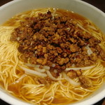 15814624 - 坦々麺醤油味700円の大盛り(+150円)