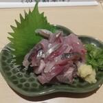 鮮魚・お食事処 山正 - あじたたき刺