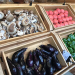 グラックスプレミアムキャンプリゾートキ 京都 るり渓 - 椎茸は肉厚で美味しかったです〜