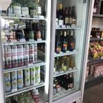 グラックスプレミアムキャンプリゾートキ 京都 るり渓 - 箕面地ビールやワイン、泡、缶ビールなど豊富に有ります。こちらも早めに調達をおすすめします。