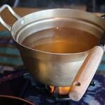 AMAネシア - 鶏飯スープ