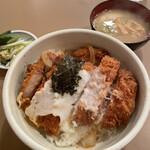 とん喜 - ■特製かつ丼定食¥1,380