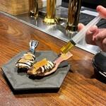 創作鉄板 粉者 - 牡蠣のワンスプーン