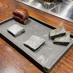 創作鉄板 粉者 - 名物 素敵サンド ここから仕上げます