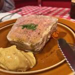 ポンデュガール - 田舎風肉パテ