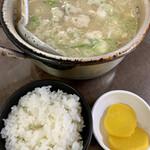栄食堂 - たら汁 880円 ライス小 170円