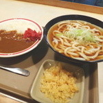 そば太田 - ミニカレーセット