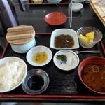 河太郎 - イカの活き造り定食