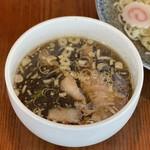 こだわり拉麺 一恭 - つけ麺(スープ)