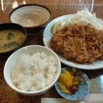 林や - 料理写真:特上ロースかつ定食1380円