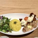 SETOUCHI檸檬食堂 - ひな鶏のレモンマリネ焼き+チキン南蛮ランチ980円