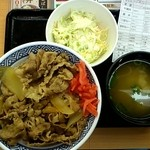 吉野家 - 牛丼大盛りAセット590円