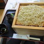 門前そば - うぐいす蕎麦(大盛り) 1250円