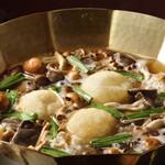 とうふ屋うかい - 料理写真:きのこ鍋