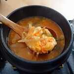 冷麺とちげのお店 Soups - ちげ 海鮮