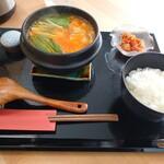 冷麺とちげのお店 Soups - ちげのセット 海鮮