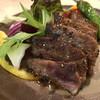 晴坊 - 料理写真:ザブトンのステーキ