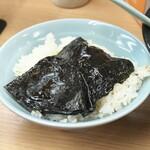 武蔵家 - のりon the rice