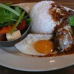 プラチナダイナー白金カフェ食堂 - ロコモコ