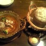 レストラン シェノワ gite - ロールキャベツとパン