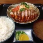 ひの食堂 - ポークソテー定食