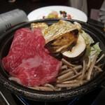 舞桜 - 子供用松茸入りすき焼き