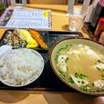 みかど - ゆしどうふ定食( ☆∀☆)