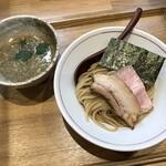 池田です! - 料理写真:濃厚にぼしつけ麺(2021/09撮影)