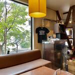 日本茶専門店 茶倉 - 緑が美しい