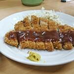 お智代食堂 - 料理写真:とんかつ定食[¥680]