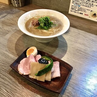 ラァメン コハク - あん肝味噌ラーメン