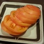 びっくり焼き亭 - トマトスライス