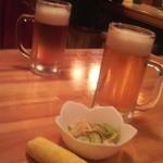 居酒屋がんこ - ビールとお通し