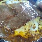 IO・ARIS いぶし屋 - 料理写真:白老牛肉!焼きカレー登場!