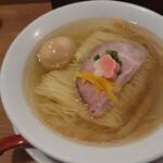 158210930 - 鯛塩そば+味玉