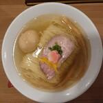 158210931 - 鯛塩そば+味玉