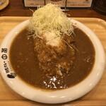 中栄 - 料理写真:あいがけカレー
