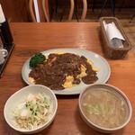 キッチン・オバサン - オムカレー('21/09/16)