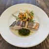 ビストロヨシダ - 料理写真:サワラのミキュイ(半生炙り)サラダ仕立て