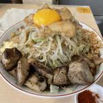 自家製麺 まさき - 料理写真:汁なし750円