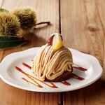 さかい珈琲 - 和栗のモンブラン