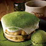 さかい珈琲 - 抹茶パンケーキ