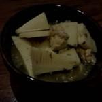 酒茶屋やんちゃ亭 - 信州名物、筍とサバ缶の煮物