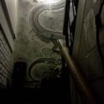 酒茶屋やんちゃ亭 - 2Fへのアヤシイ階段