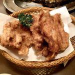 地鶏 あんどう - 鳥の唐揚げ ¥714